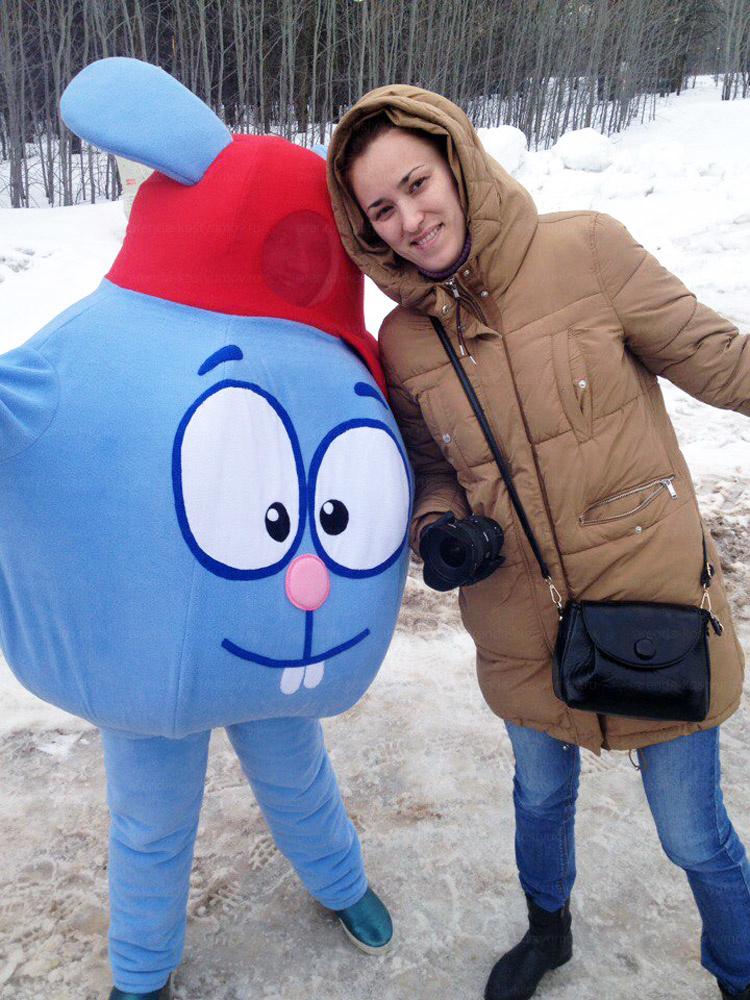 Отзыв об аренде ростовой куклы Крош от arenda-kostyumov.ru