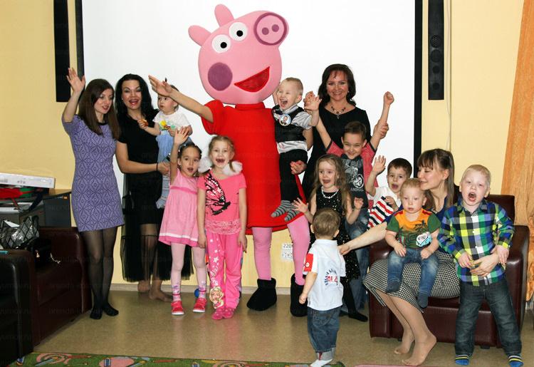 Отзыв об аренде мишки, свинки пеппы и кроша от arenda-kostyumov.ru