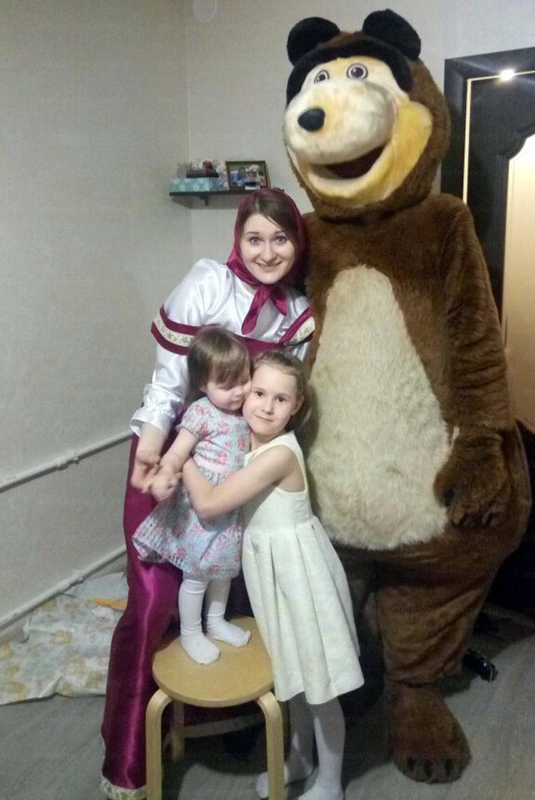 Отзыв об аренде Машеньки и медведя от arenda-kostyumov.ru