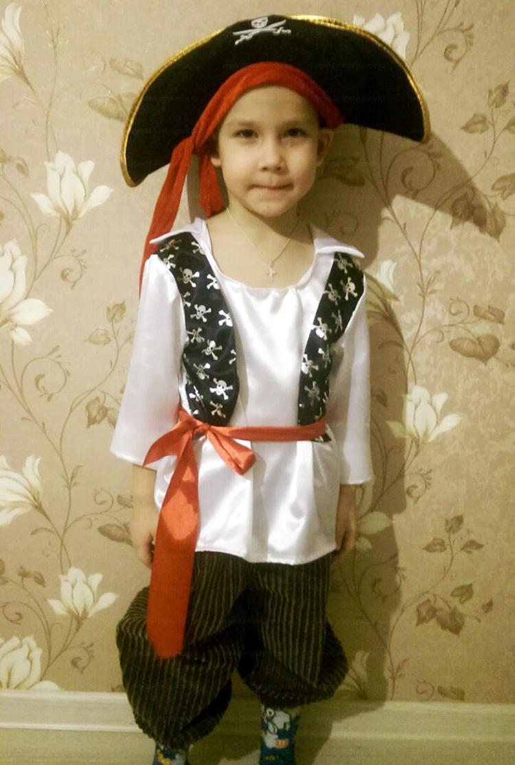 Отзыв об аренде костюма пирата от arenda-kostyumov.ru