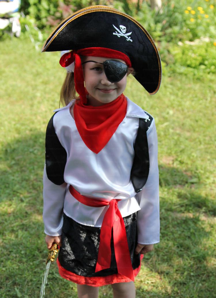Отзыв об аренде детского костюма пиратки от arenda-kostyumov.ru
