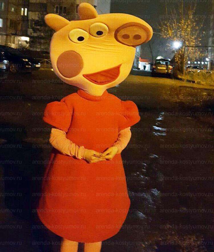 Отзыв об аренде Свинки Пеппы от arenda-kostyumov.ru