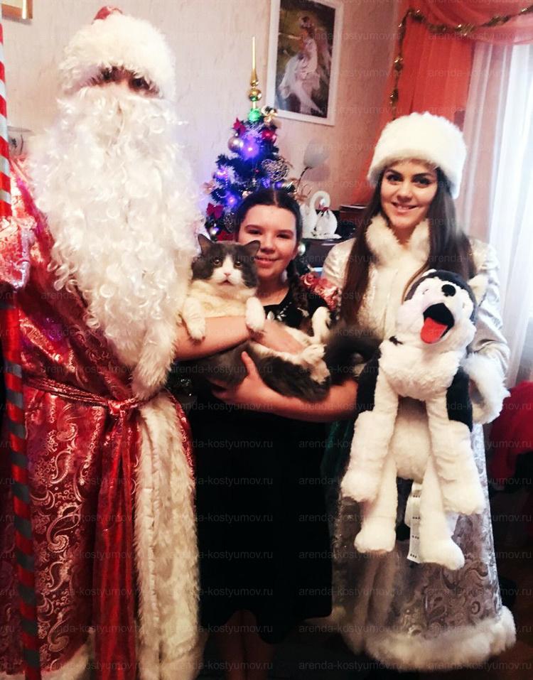 Отзыв об аренде костюмов дед мороза и снегурочки от arenda-kostyumov.ru