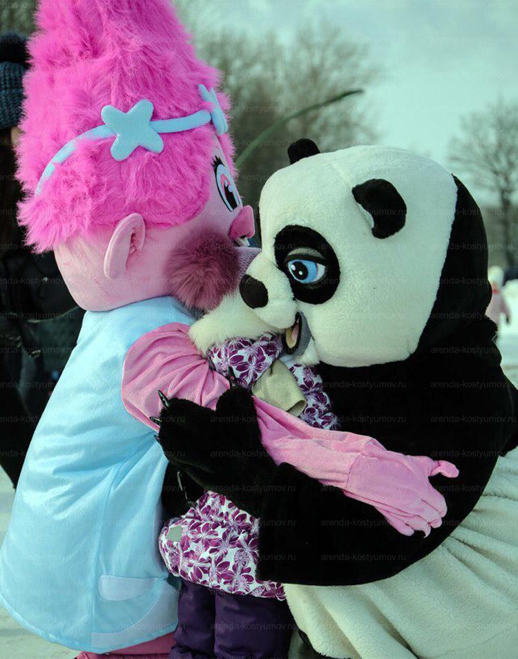 Отзыв об аренде ростовой куклы Розочка из троллей от arenda-kostyumov.ru