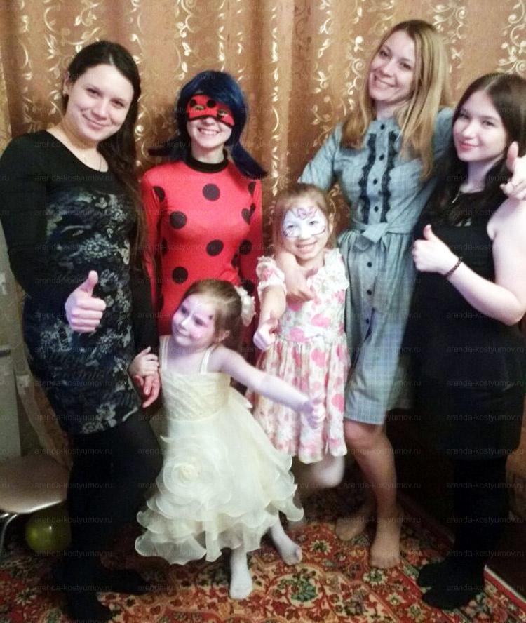Отзыв об аренде костюма Леди Баг от arenda-kostyumov.ru