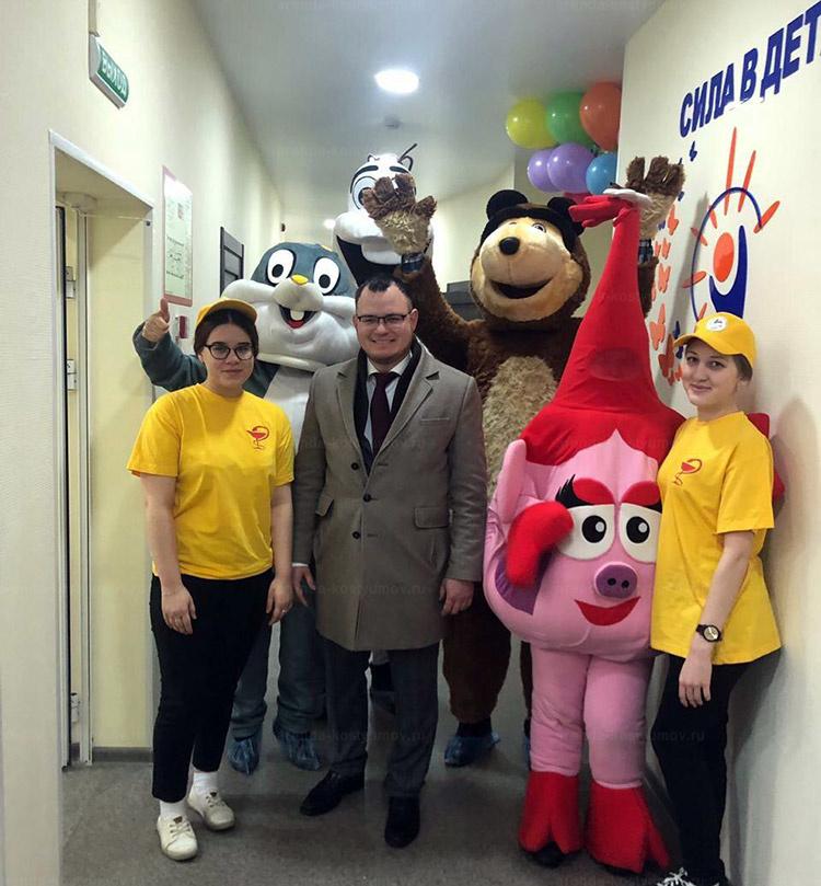 Отзыв об аренде ростовых кукол Олаф, медведь, нюша и заяц от arenda-kostyumov.ru