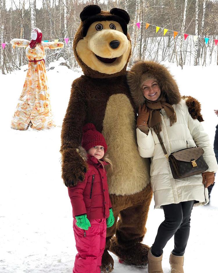 Отзыв об аренде ростовой куклы медведь от arenda-kostyumov.ru