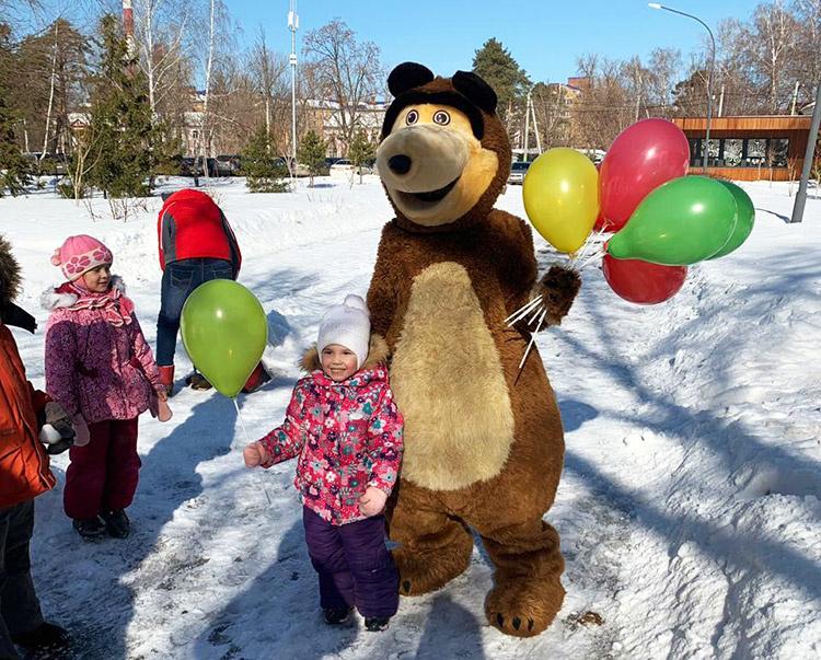 Отзыв об аренде медведя от arenda-kostyumov.ru