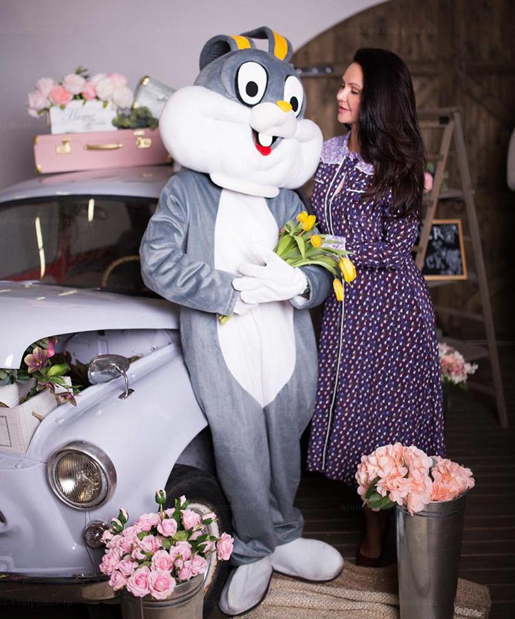 Отзыв об аренде куклы заяц от arenda-kostyumov.ru