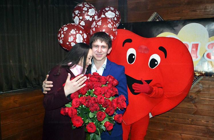 Отзыв об аренде ростовой куклы сердце от arenda-kostyumov.ru
