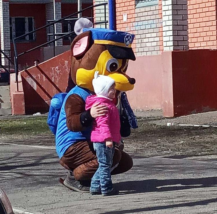 Отзыв об аренде куклы гонщик от arenda-kostyumov.ru
