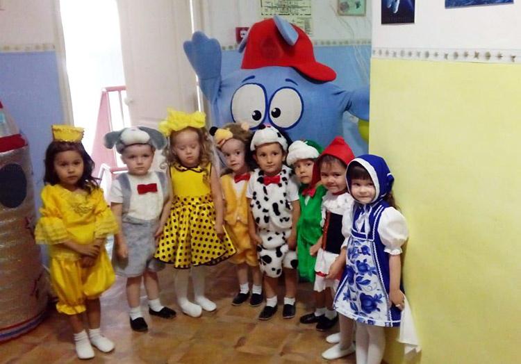Отзыв об аренде ростовой кукле Крош от arenda-kostyumov.ru