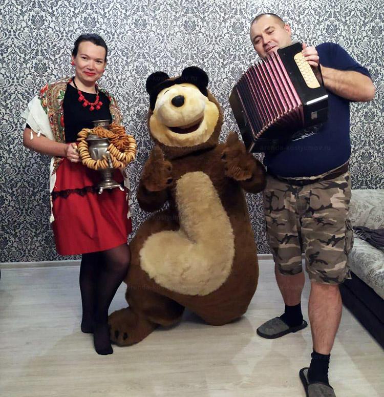 Отзыв об аренде о ростовой кукле медведь от arenda-kostyumov.ru