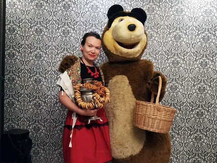 Отзыв об аренде медведя из м/ф Маша и медведь от arenda-kostyumov.ru