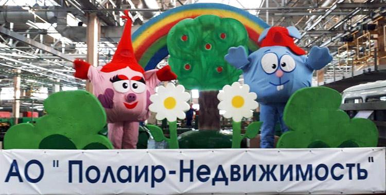 Отзыв об аренде ростовых кукол нюша и крош от arenda-kostyumov.ru